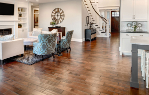 Hardwood flooring installtion